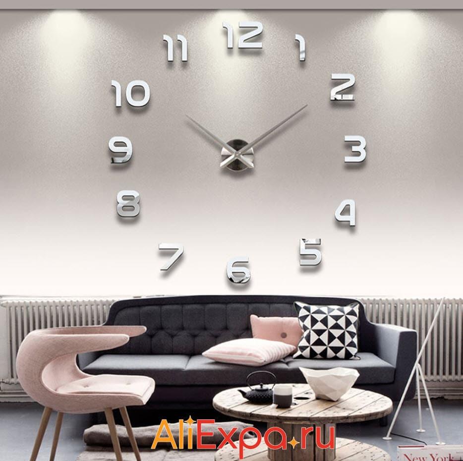 3D настенные часы-цифры | Товары для декора дома