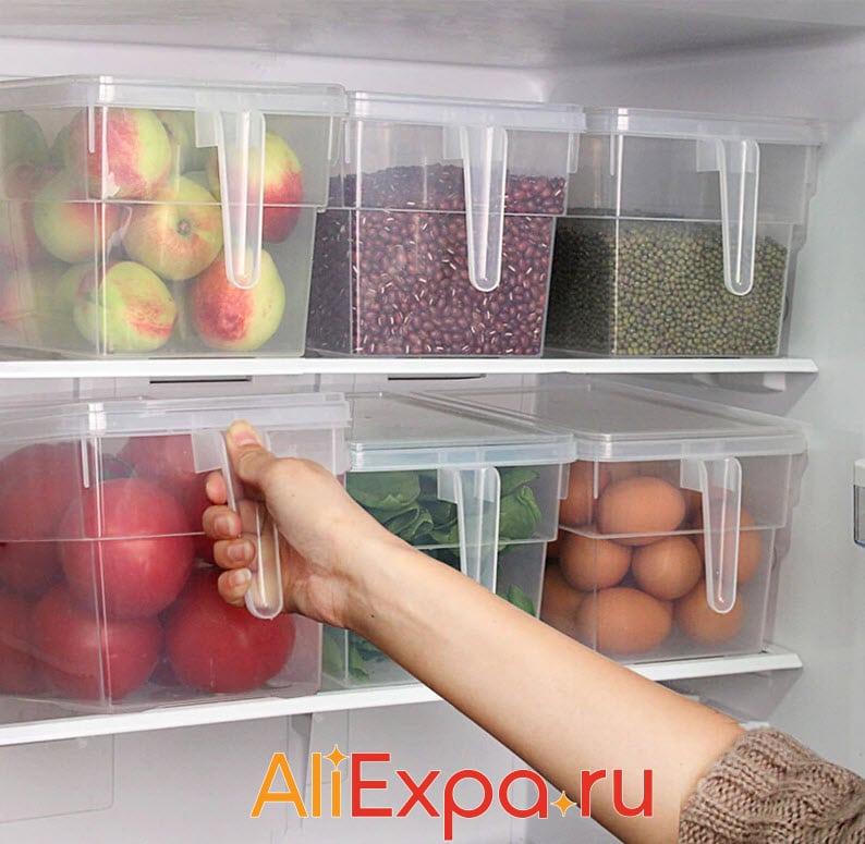 Пластиковые контейнеры для хранения продуктов | Товары для кухни