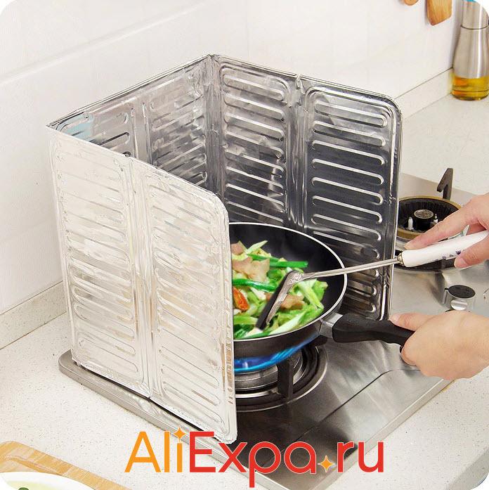 Барьер от брызг при готовке | Товары для кухни