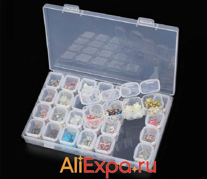 Пластиковый ящик для хранения мелочей | Товары для хранения вещей