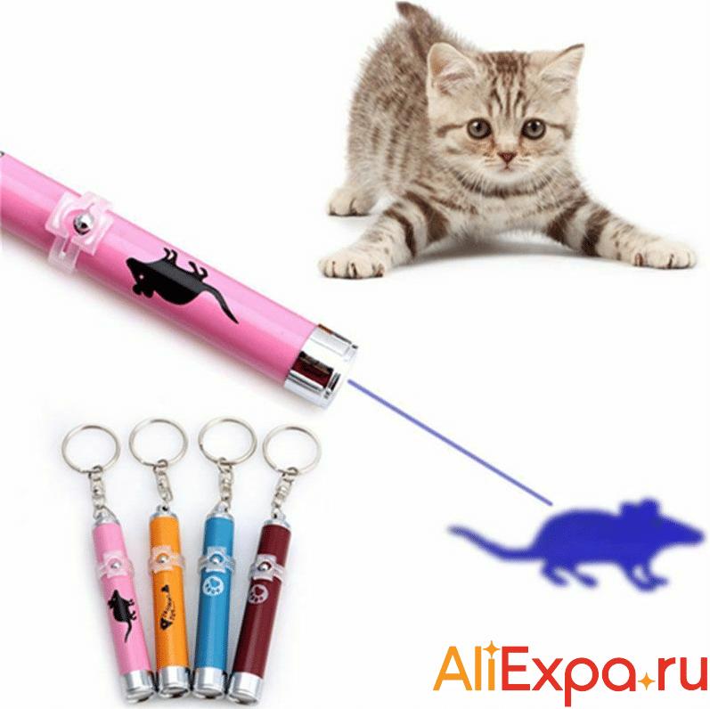Лазерная указка для кошек DCPET купить на Алиэкспресс