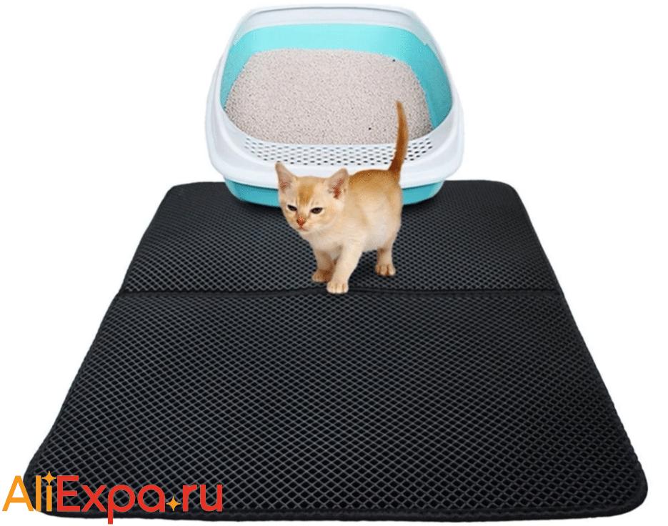 Подстилка для кошачьего туалета EVA купить на Алиэкспресс