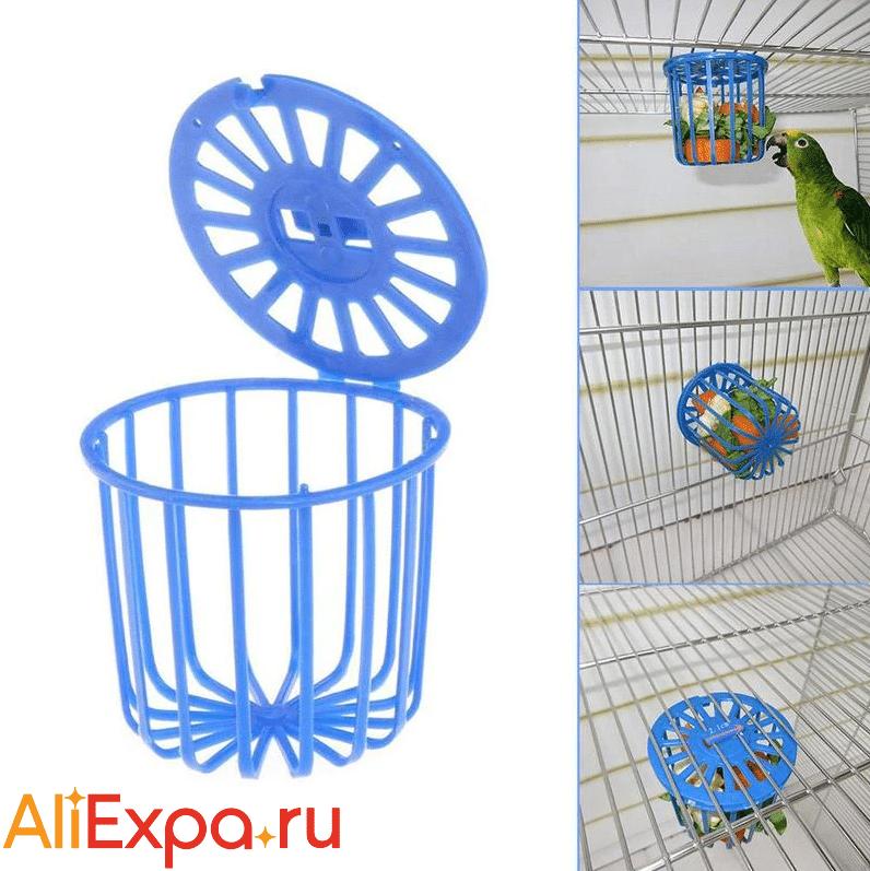 Кормушка для попугая в клетку Misterolina купить на Алиэкспресс