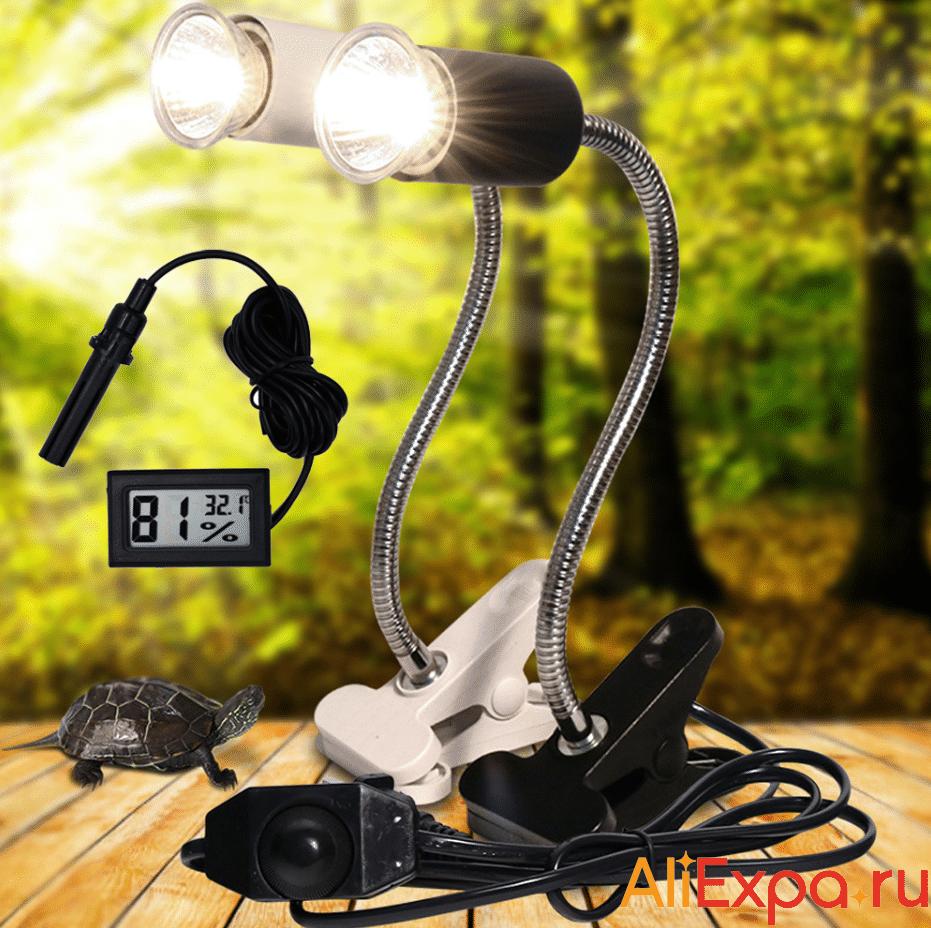 Лампа для рептилий с регулировкой температуры Nasedal купить на Алиэкспресс