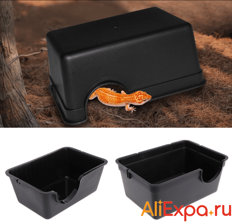 Пластиковое укрытие для рептилий купить на Алиэкспресс