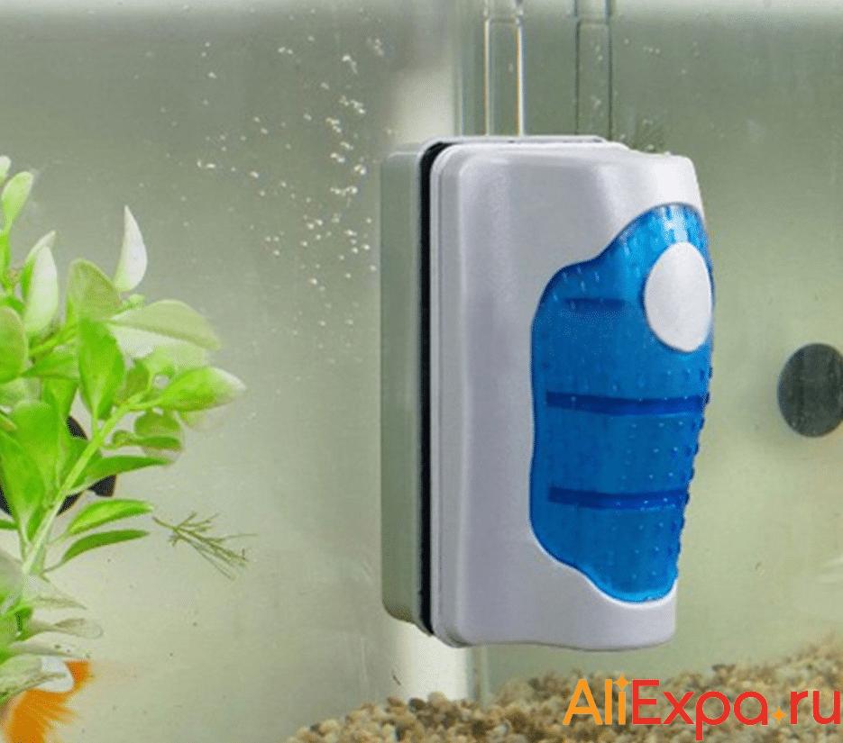 Магнитный скребок для аквариума YUGE купить на Алиэкспресс