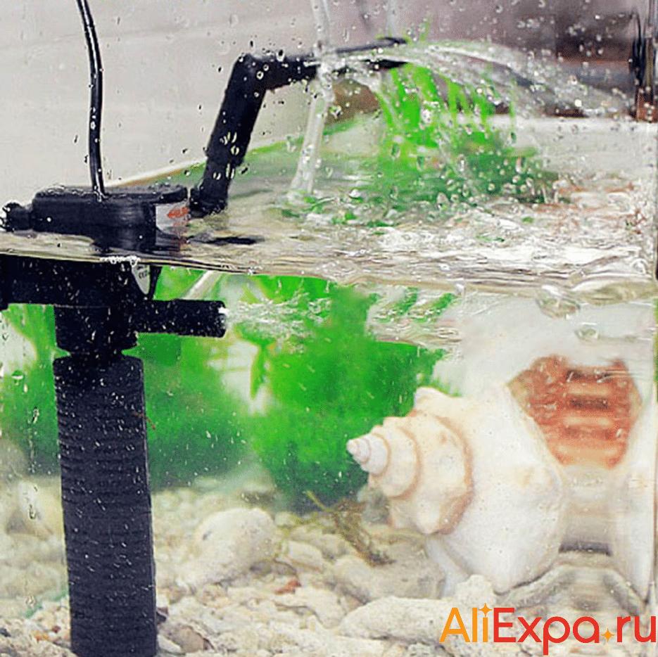 Внутренний фильтр для аквариума 3 в 1 YUGE купить на Алиэкспресс