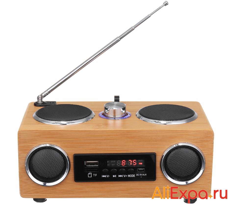 Винтажный радио-плеер с пультом управления KINCO купить на Алиэкспресс
