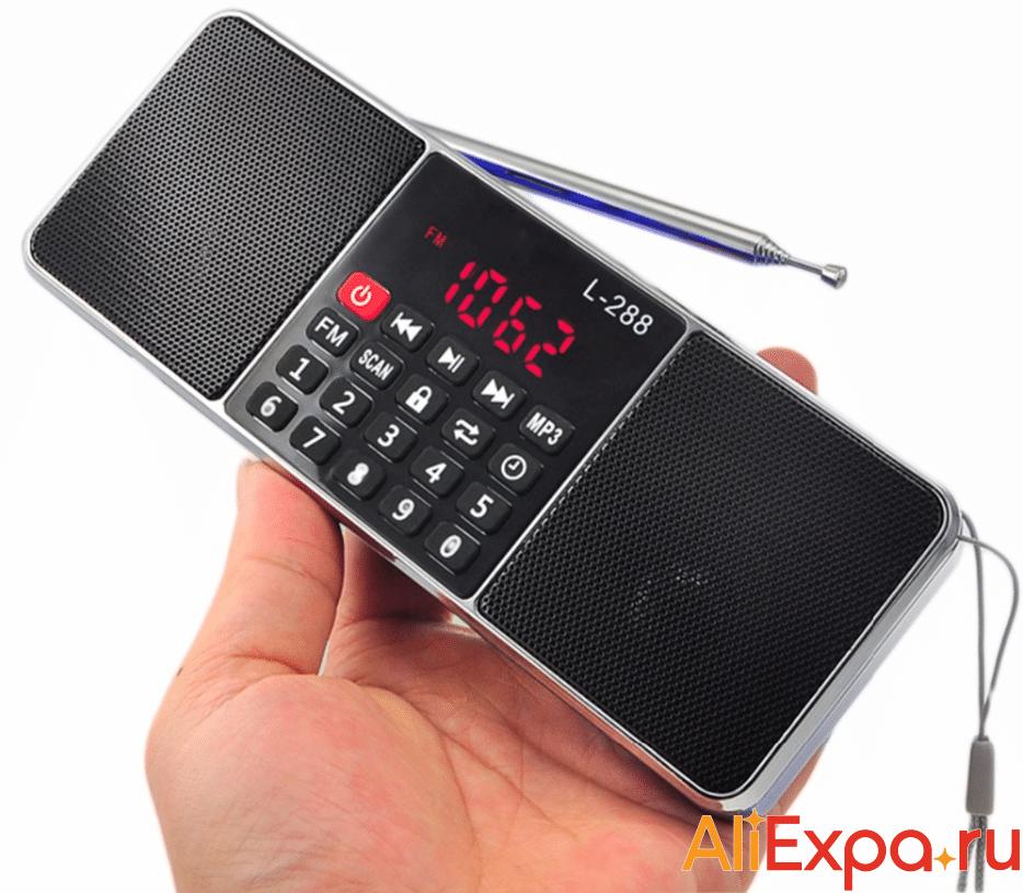 Радио-плеер с поддержкой карт памяти Lewinner купить на Алиэкспресс