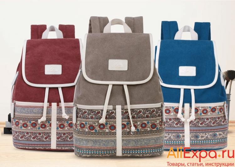Текстильный городской рюкзак Canvasartisan купить на Алиэкспресс