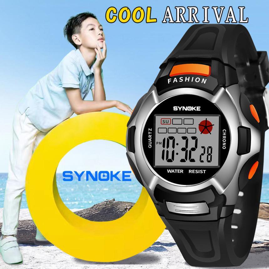 Электронные водонепроницаемые часы купить на Алиэкспресс