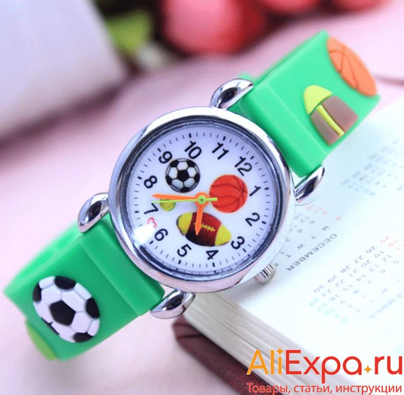 Детские часы для любителей футбола Zien купить на Алиэкспресс