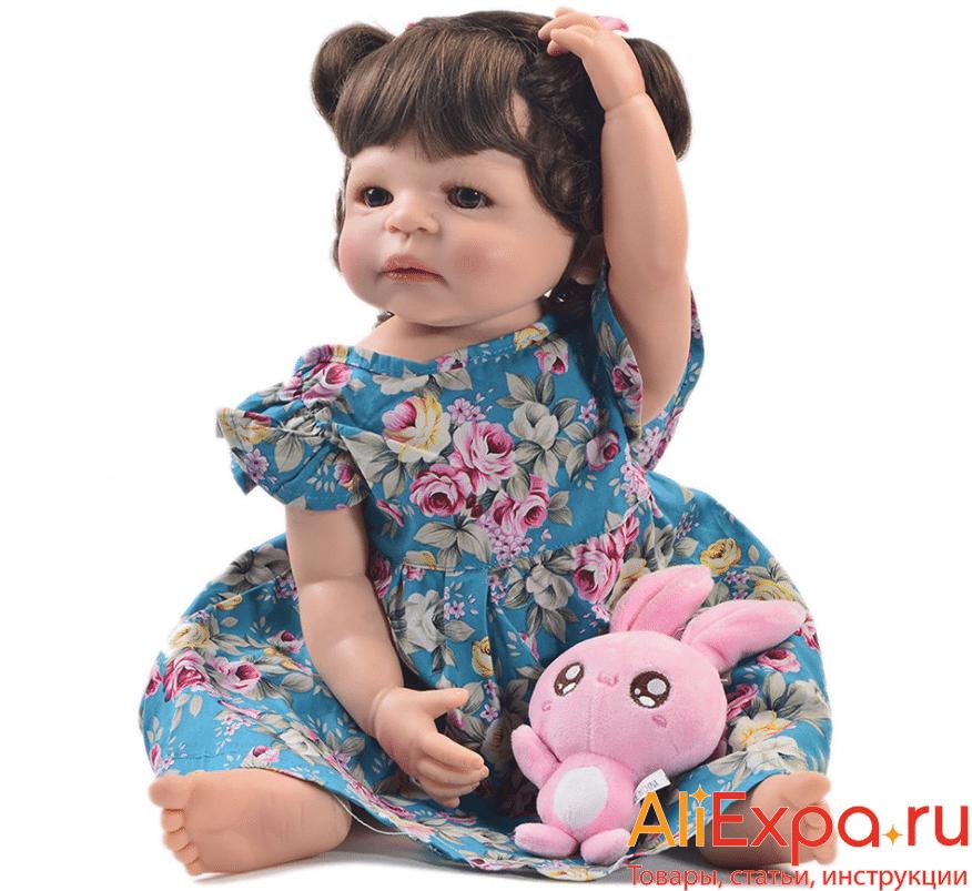 Кукла Реборн с акриловыми глазамиKEIUMI купить на Алиэкспресс