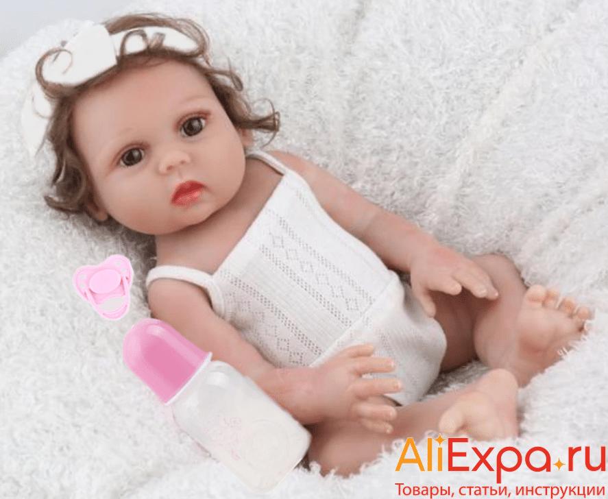 Кукла Реборн: девочка-младенец NPKDOLL купить на Алиэкспресс