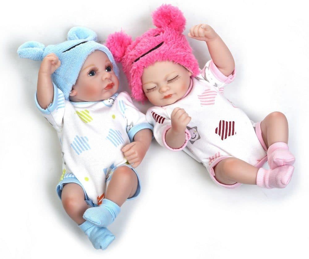 Куклы Реборн — двойняшки NPKCOLLECTION купить на Алиэкспресс