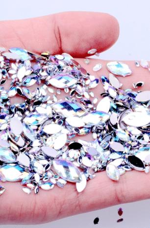 Купить стразы на Алиэкспресс: более 200 вариантов для ногтей, вышивки, одежды и т.д.