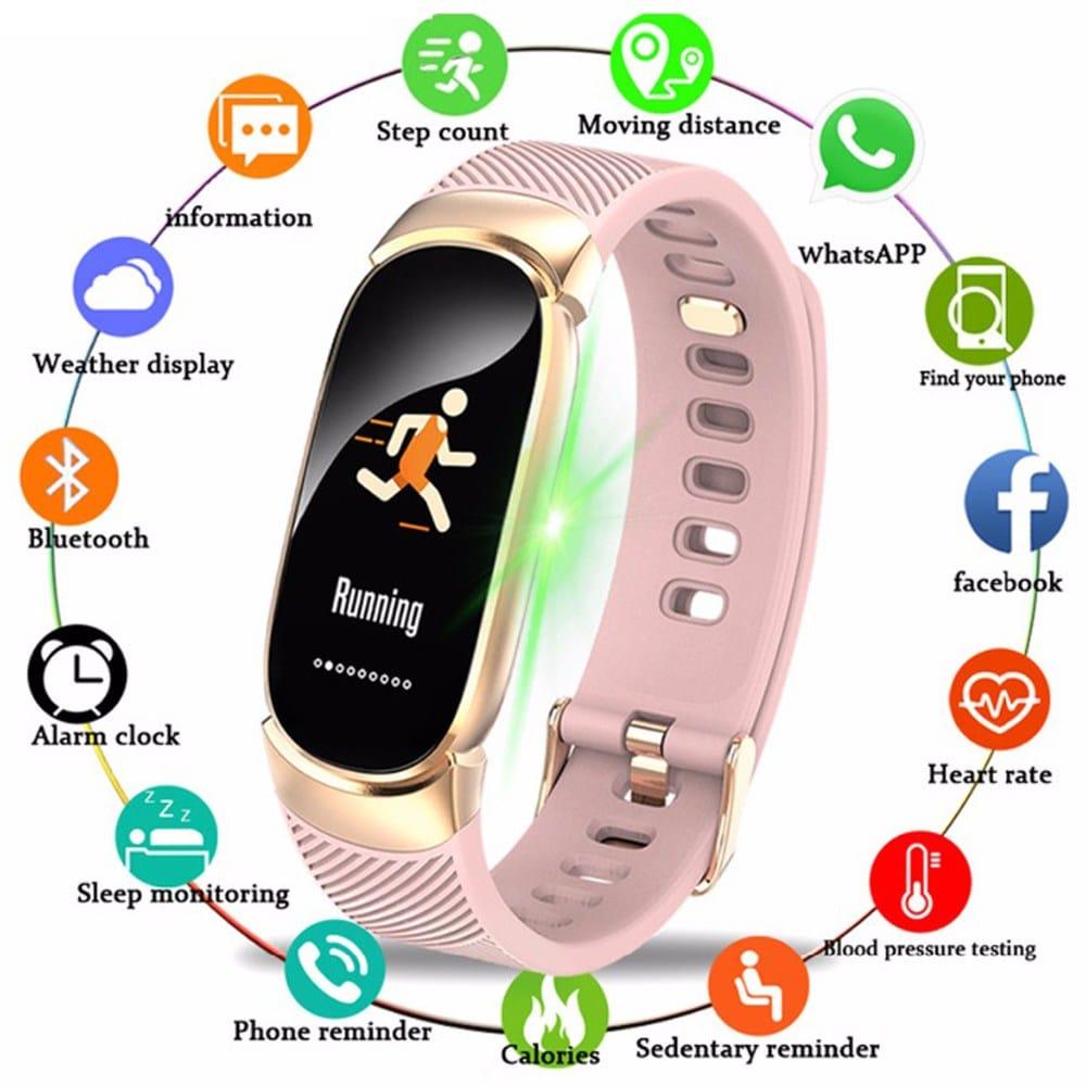 Женские смарт часы BANGWEI купить на Алиэкспресс