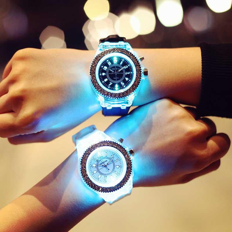 Светодиодные наручные часы Jellies купить на Алиэкспресс