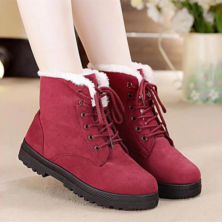 Демисезонные женские ботинки на шнурках купить на Алиэкспресс
