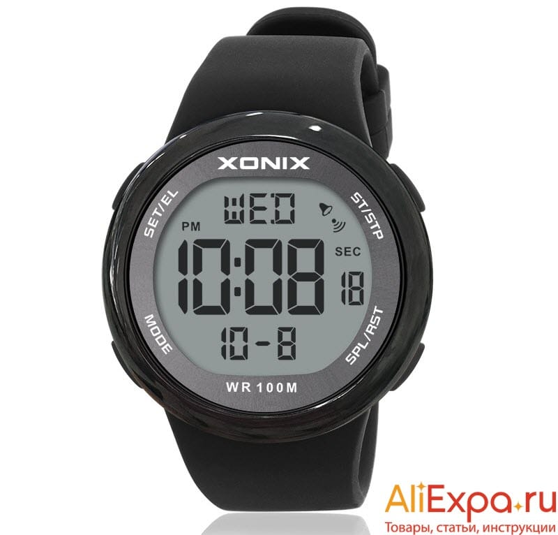 Водонепроницаемые мужские часы для плавания купить на Алиэкспресс