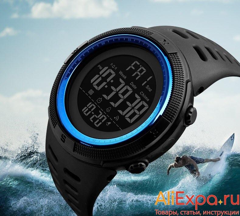 Электронные спортивные часы купить на Алиэкспресс