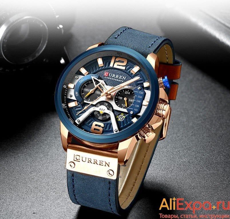 Стильные мужские часы в цвете купить на Алиэкспресс