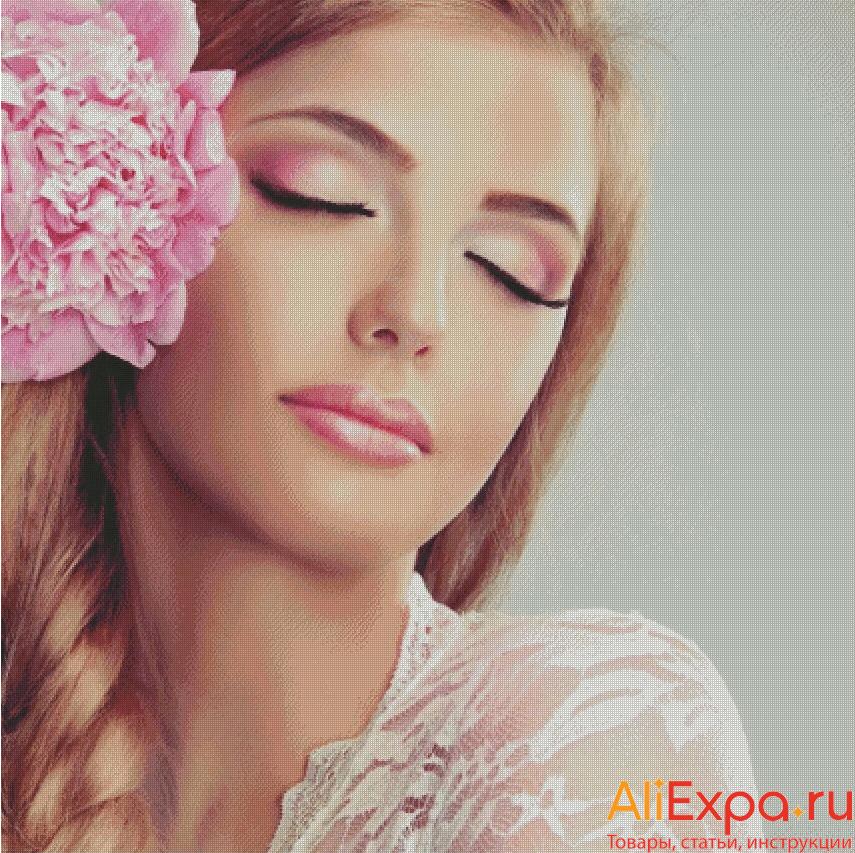 Алмазная мозаика по фото на заказ купить на Алиэкспресс