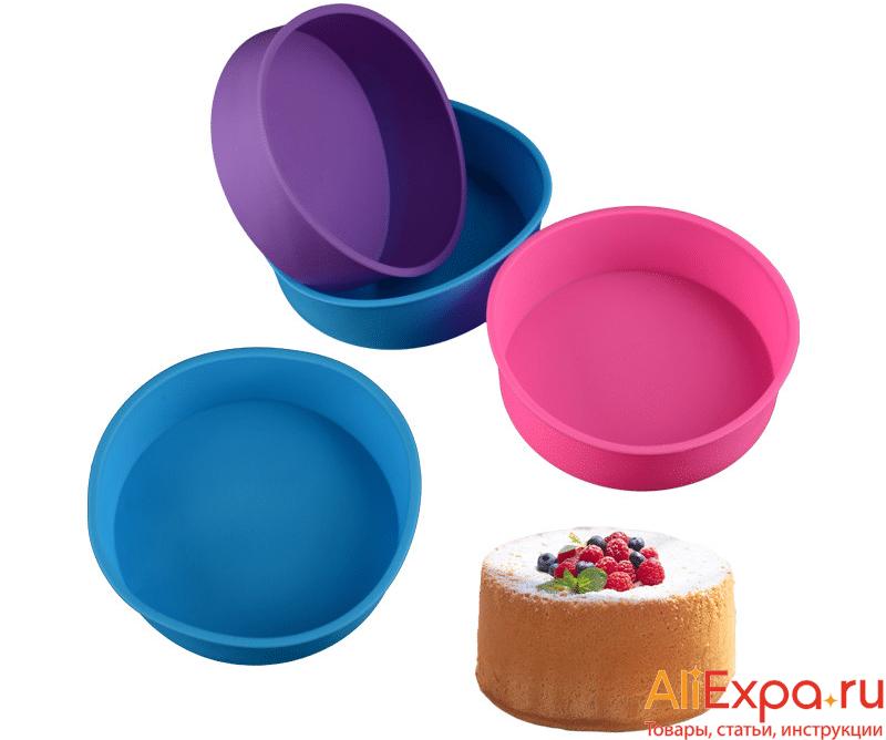Силиконовая форма для тортов и пирогов купить на Алиэкспресс
