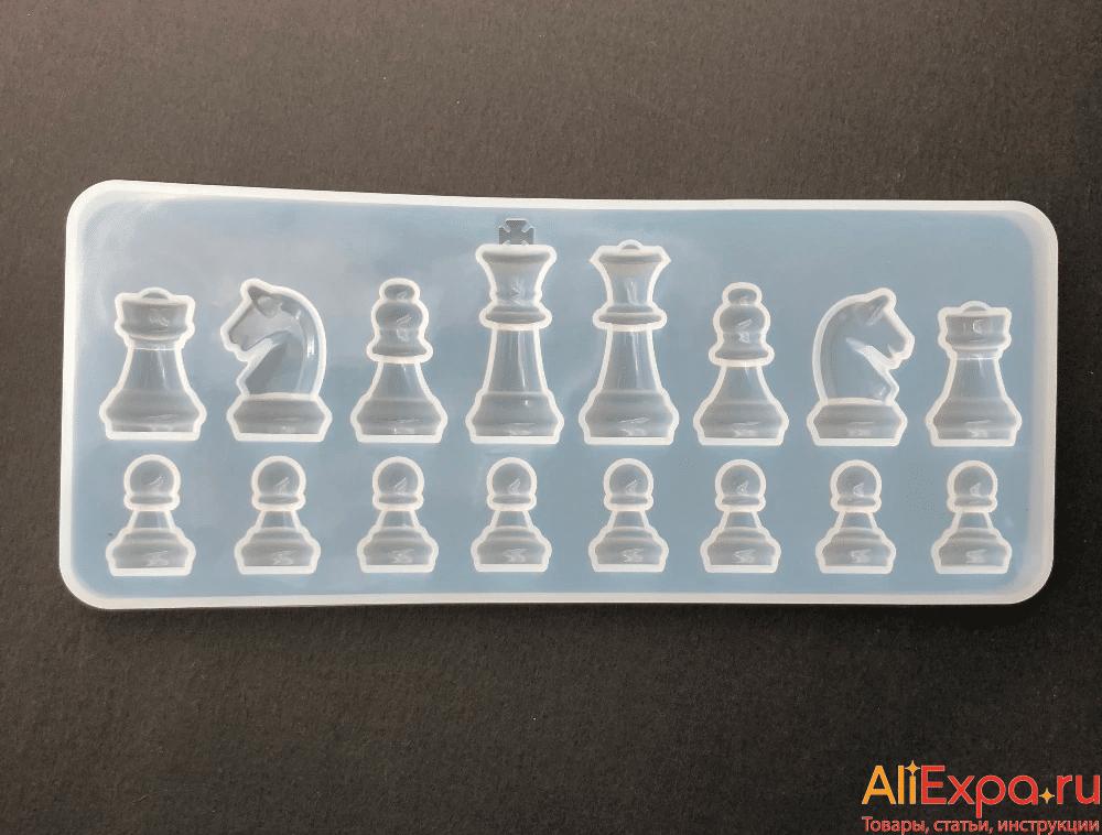 Силиконовая форма в виде шахматных фигур купить на Алиэкспресс