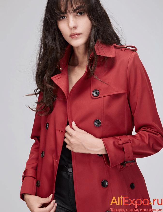 Модное плащ-пальто от JAZZEVAR купить на Алиэкспресс