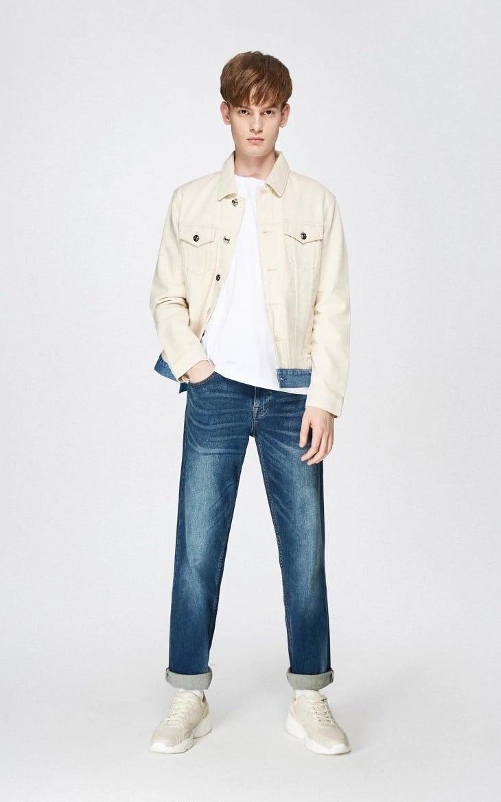 Мужские джинсы в стиле Мустанг купить на Алиэкспресс