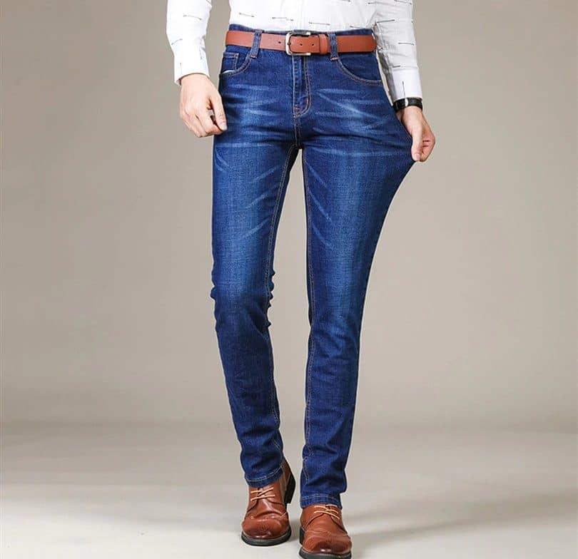 Мужские джинсы в стиле Кэжуал купить на Алиэкспресс