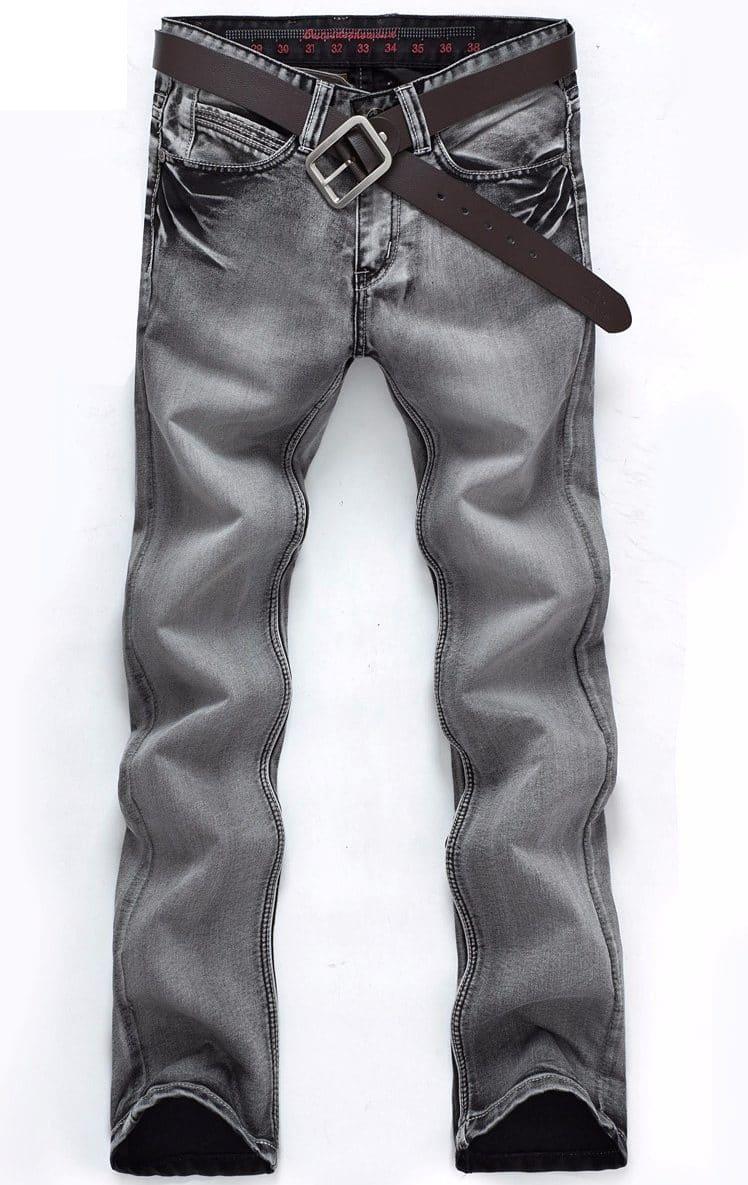 Прямые серые джинсы купить на Алиэкспресс