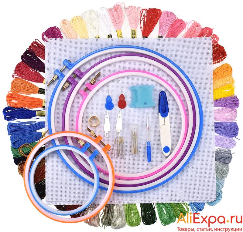 Набор материалов для вышивки крестом купить на Алиэкспресс